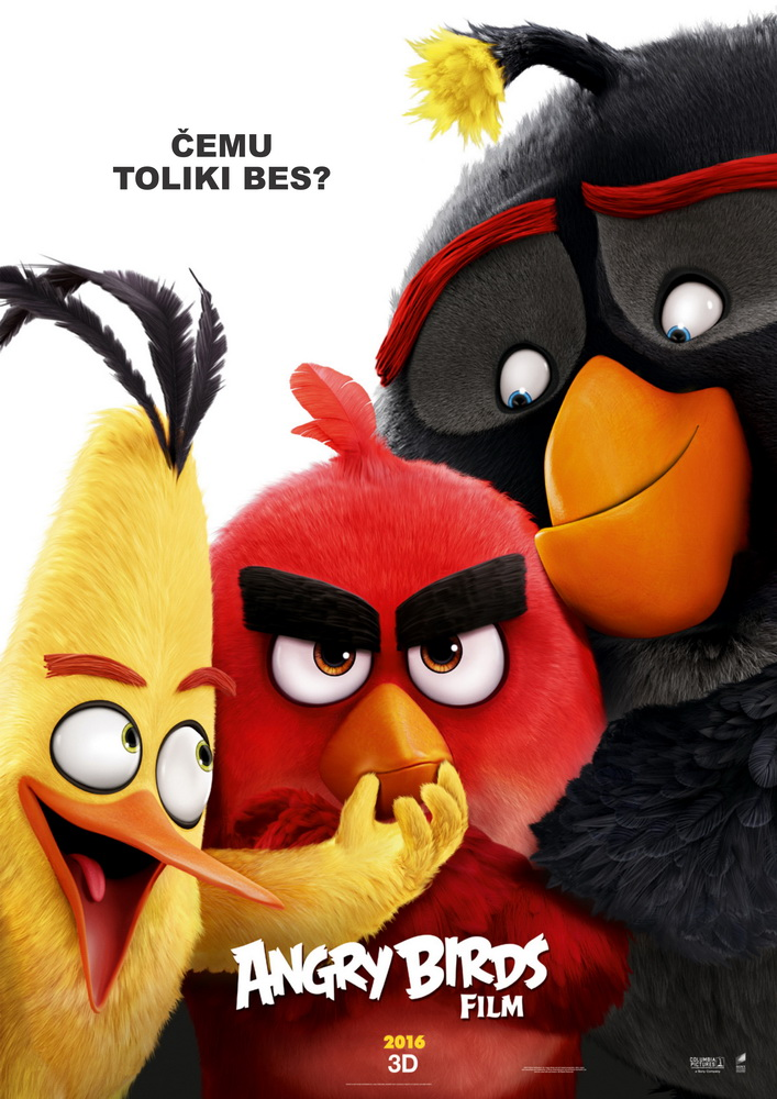 Angry Birds film 3D <br>(sinhronizovano)