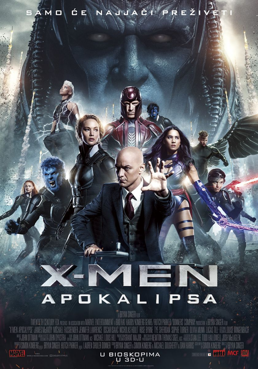 "Film ""X-Men: Apokalipsa"" 3D"