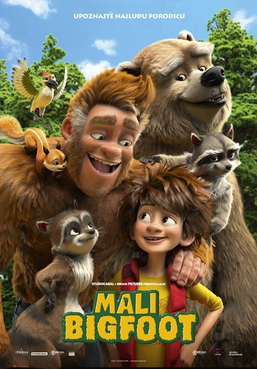 "Crtani film ""Mali Bigfoot"" 3D (sinhronizovano)"